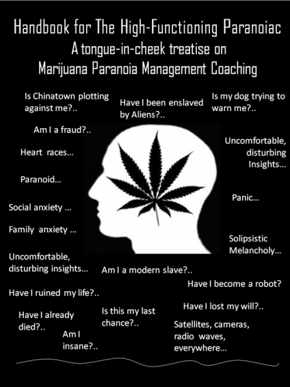Handbook for the High-Functioning Paranoiac--treatise on Marijuana Paranoia Management Coaching